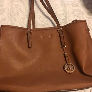 Large Tan Michael Kors Tote Bag